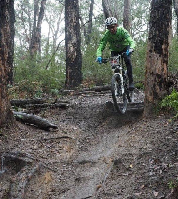 The Pain of Mountain Biking!