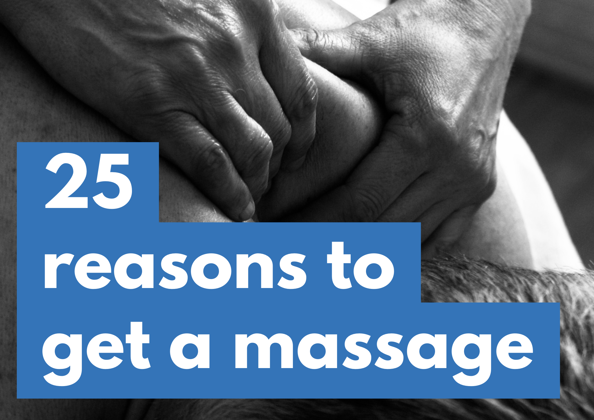25 Reasons To Get A Massage Colac
